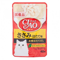 Pate Ciao Chicken Fillet Scallop Flavor 205 (40g)